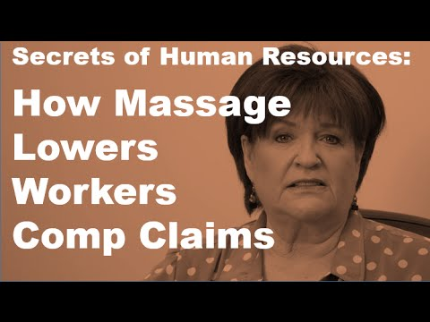Can Massage Lower Worker's Comp Claims?