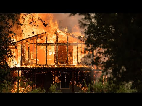 Homes Are Destroyed And Burned In The Path Of The River Fire In Nevada And Placer Counties