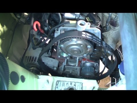 Fiat / Ford 1.2l Replacing timing belt and water pump