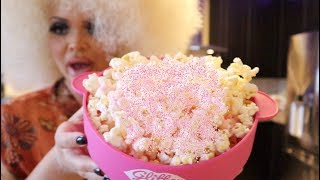 HOW TO MAKE GLITTER POPCORN!