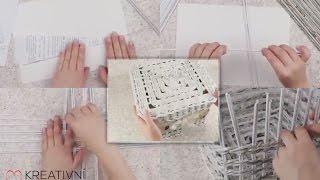 Pletení z novin