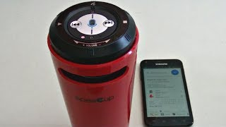 speeCup - Siri/S Voice Activated Bluetooth Speaker Unboxing & Review