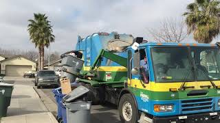 It's Trash Day in Fresno! | City of Fresno American La France Rapid Rail