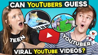 Can YouTubers Guess Classic YouTube Videos Described By Teens?