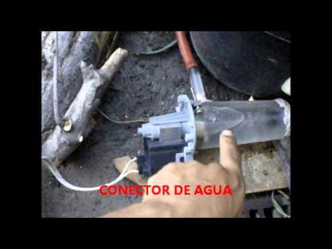 Molino para fuente de agua con bomba casera youtube for Accesorios para estanques de agua