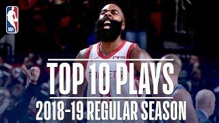 James Harden's Top 10 Plays of the 2018-19 Regular Season