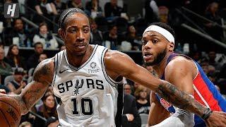 Detroit Pistons vs San Antonio Spurs - Full Game Highlights | December 28 | 2019-20 NBA Season