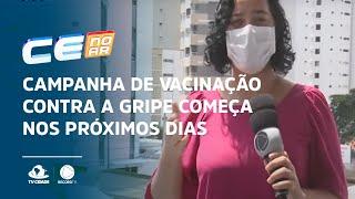 Campanha de vacinação contra a gripe começa nos próximos dias