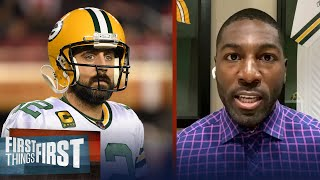 Greg Jennings reacts to Aaron Rodgers' comments on future in Green Bay | NFL | FIRST THINGS FIRST