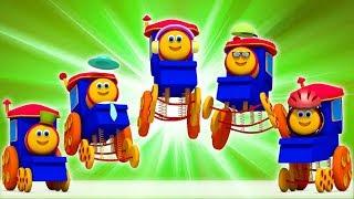 Bob train doigt famille | Bob Train Finger Family | Bob The Train Française | chansons de bébé