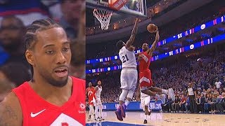 Kawhi Gets Shut Down Twice By Joel Embiid With Amazing Blocks & Sixers Destroy Raptors In Game 6!
