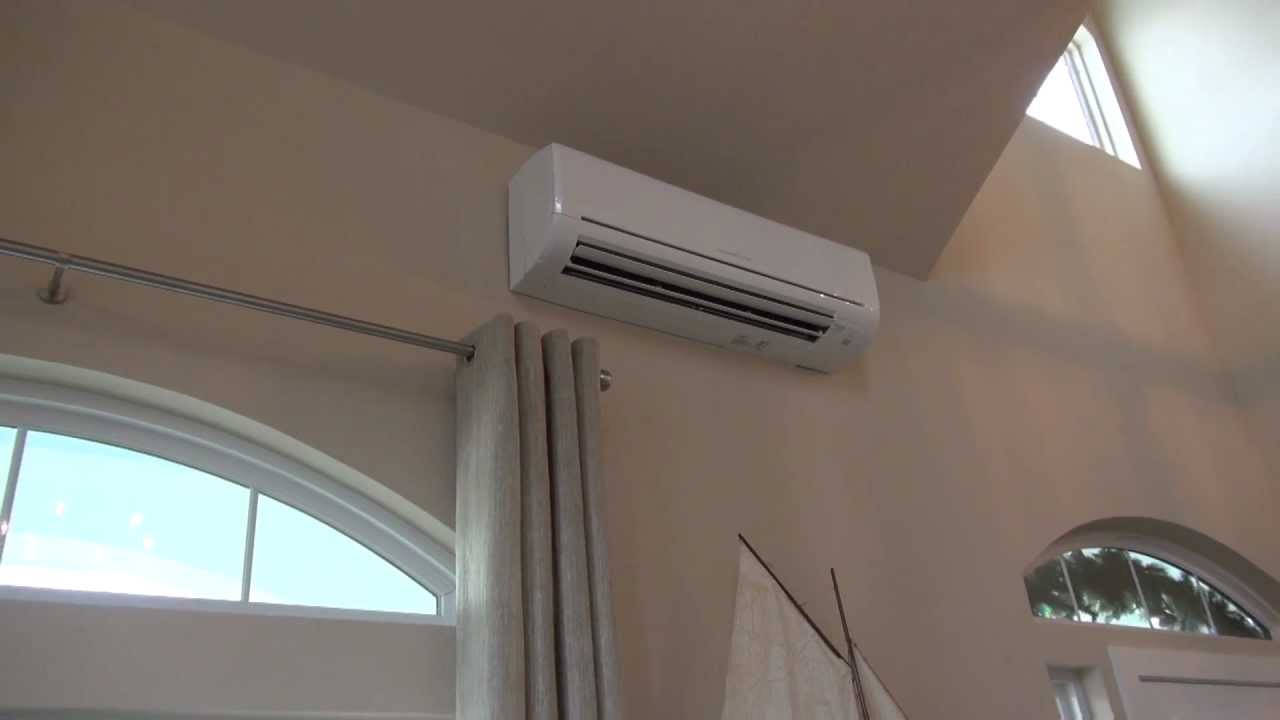 Mitsubishi Mr Slim Single Room Wall Mounted Ac Heat Pump