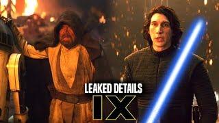 Star Wars Episode 9 Leaked Details Of Luke Skywalker