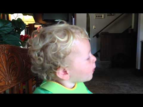 Brady on Grandpa's BDay 2014