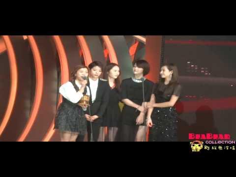 121130 MAMA2012 Best Dance Award-Shinee+f(x)
