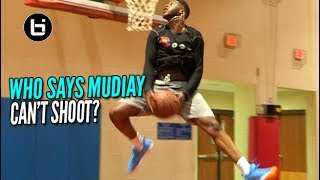 Emmanuel Mudiay Showing Off That Brand New & Improved Shot! Dominating Elite Runs