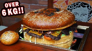Undefeated Czech Burger Challenge at Pablo EscoBAR!!