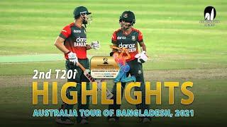 Bangladesh vs Australia Highlights || 2nd T20i || Australia tour of Bangladesh 2021
