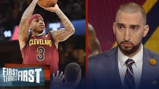Nick and Cris react to the return of Isaiah Thomas for the Cleveland Cavaliers   FIRST THINGS FIRST