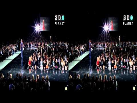 Moskow Fashion Week 2011 открытие Юдашкин 3D часть 2