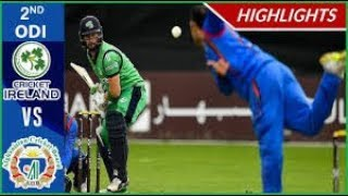 2nd ODI Ireland vs Afghanistan 2019 Highlights || Ashes Cricket