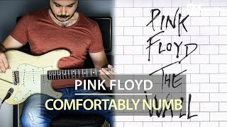 Pink Floyd - Comfortably Numb - Electric Guitar Cover by Kfir Ochaion