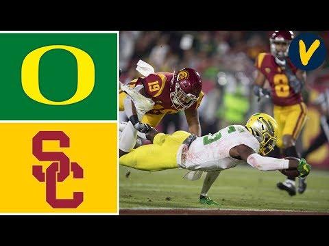 #7 Oregon vs USC Highlights | Week 10 | College Football 2019