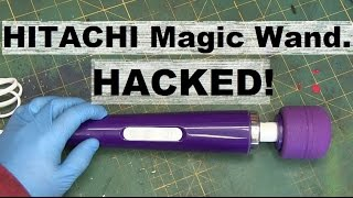 BOLTR: Hitachi MAGIC WAND modded to USB Power Bank.