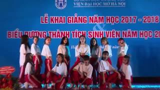 Tiết mục Nhảy hiện đại - Văn nghệ Khai giảng năm học 2017-2018