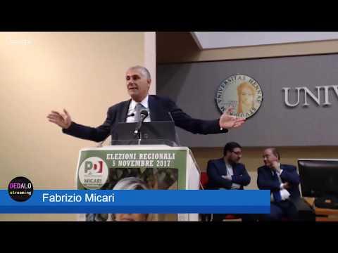 Elezioni Regionali: Fabrizio Micari ad Enna