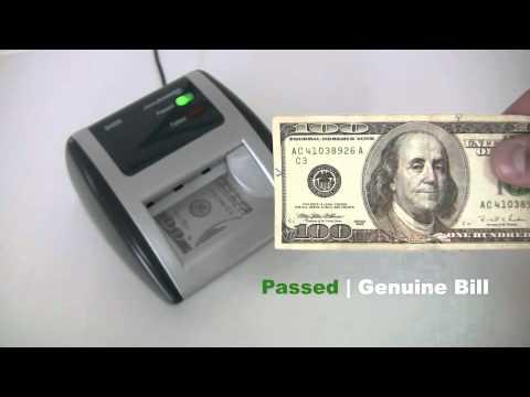 AccuBANKER D450: Bleached Bill Auto Detector