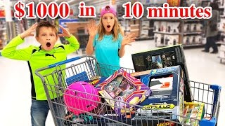 $1000 in 10 Minutes Shopping Challenge!!!