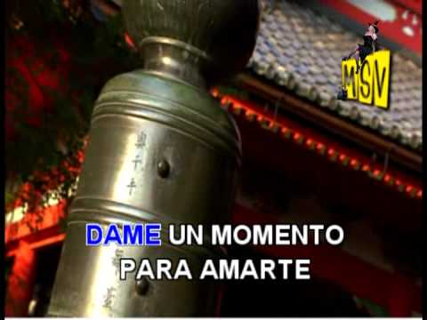 DAME UN MOMENTO Agua Marina Karaoke