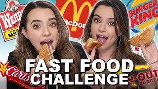 Fast Food Challenge - Merrell Twins