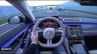 The New Mercedes S Class 2021 Test Drive
