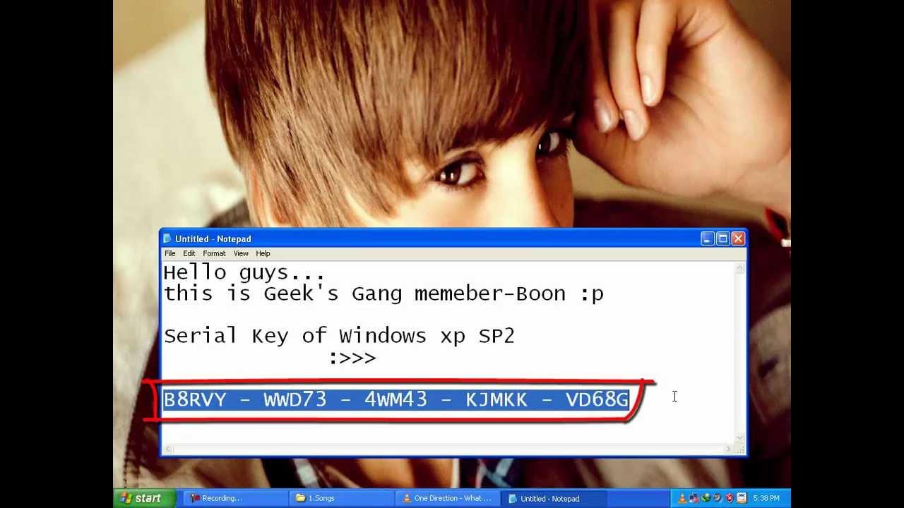 Free Windows Xp Pro Product Key Generator