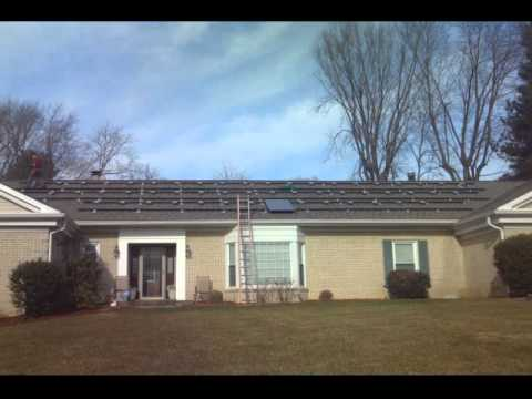 Silver Spring Solar Electric PV Install