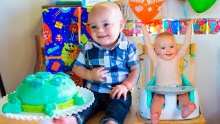 Calvin's First Birthday Party!