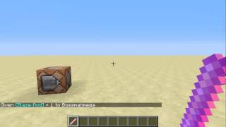 Minecraft Command Block Tutorial #6 | Enchant items with custom levels