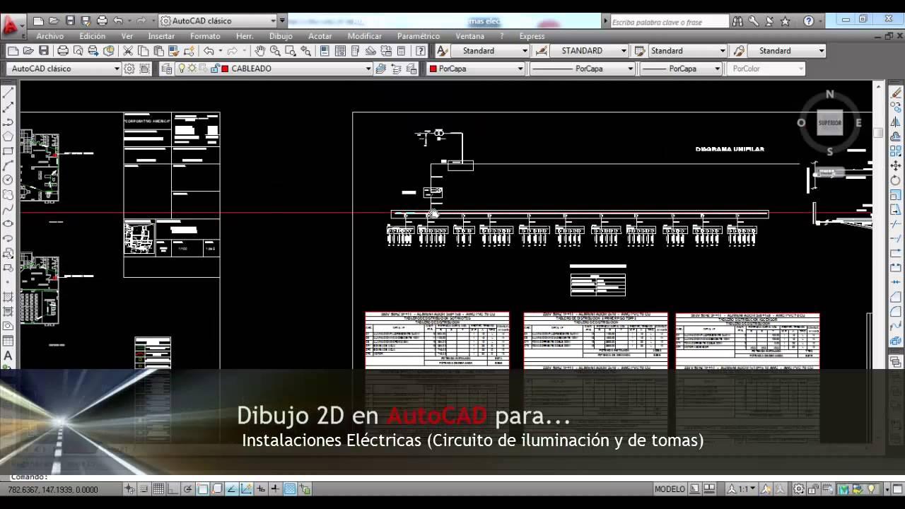 Cursos De Autocad Aplicado Instalaciones Electricas