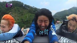 【TVPP】Kwanghee(ZE:A) - Dropped from the boat, 광희(제국의아이들) - 팡팡보트에서 날아가버린 광희 @ Infinite Challenge