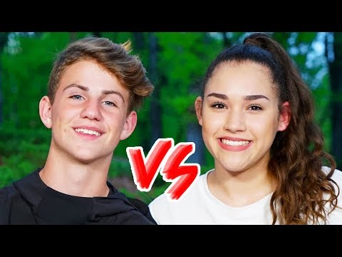 Dance Battle! MattyBRaps vs Gracie Haschak