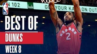 NBA's Best Dunks | Week 8