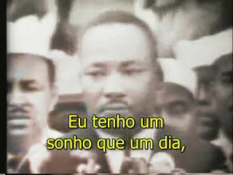 I have a dream - Eu tenho um sonho - Martin Luther King Jr