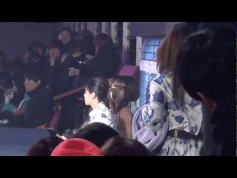 20121229 2NE1 f(x) @ SBS Gayo Daejun
