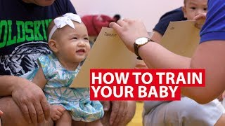 How To Train Your Baby To Be Super Smart   Super Baby   CNA Insider