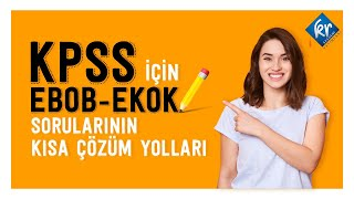 KPSS Matematik - EBOB EKOK
