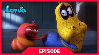 LARVA - SPIDER MAN LARVA | 2017 Cartoon Movie | Videos For Kids | 라바 | LARVA Official