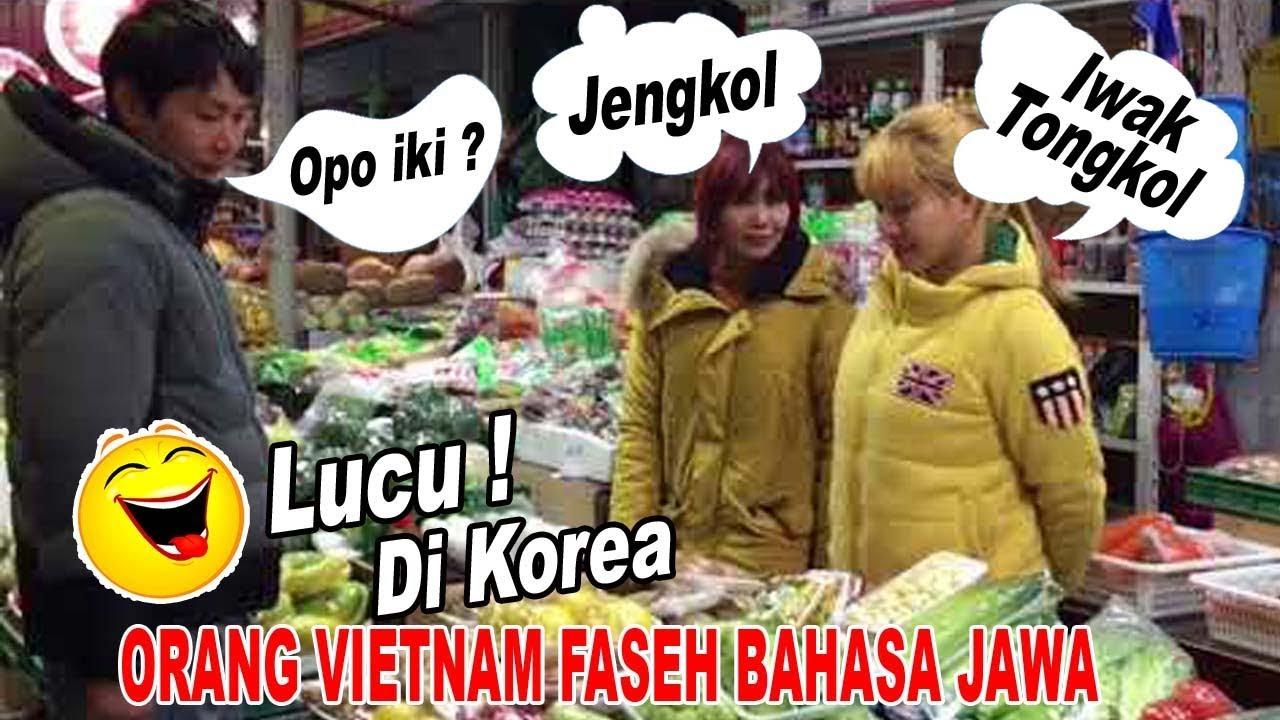 Di KOREA Orang Vietnam Faseh Bahasa Jawa Lucu Bikin Ngakak