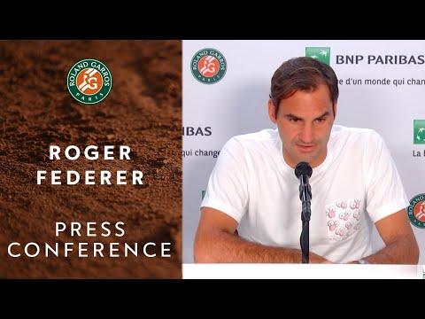 Roger Federer - Press Conference after Round 1 | Roland-Garros 2019